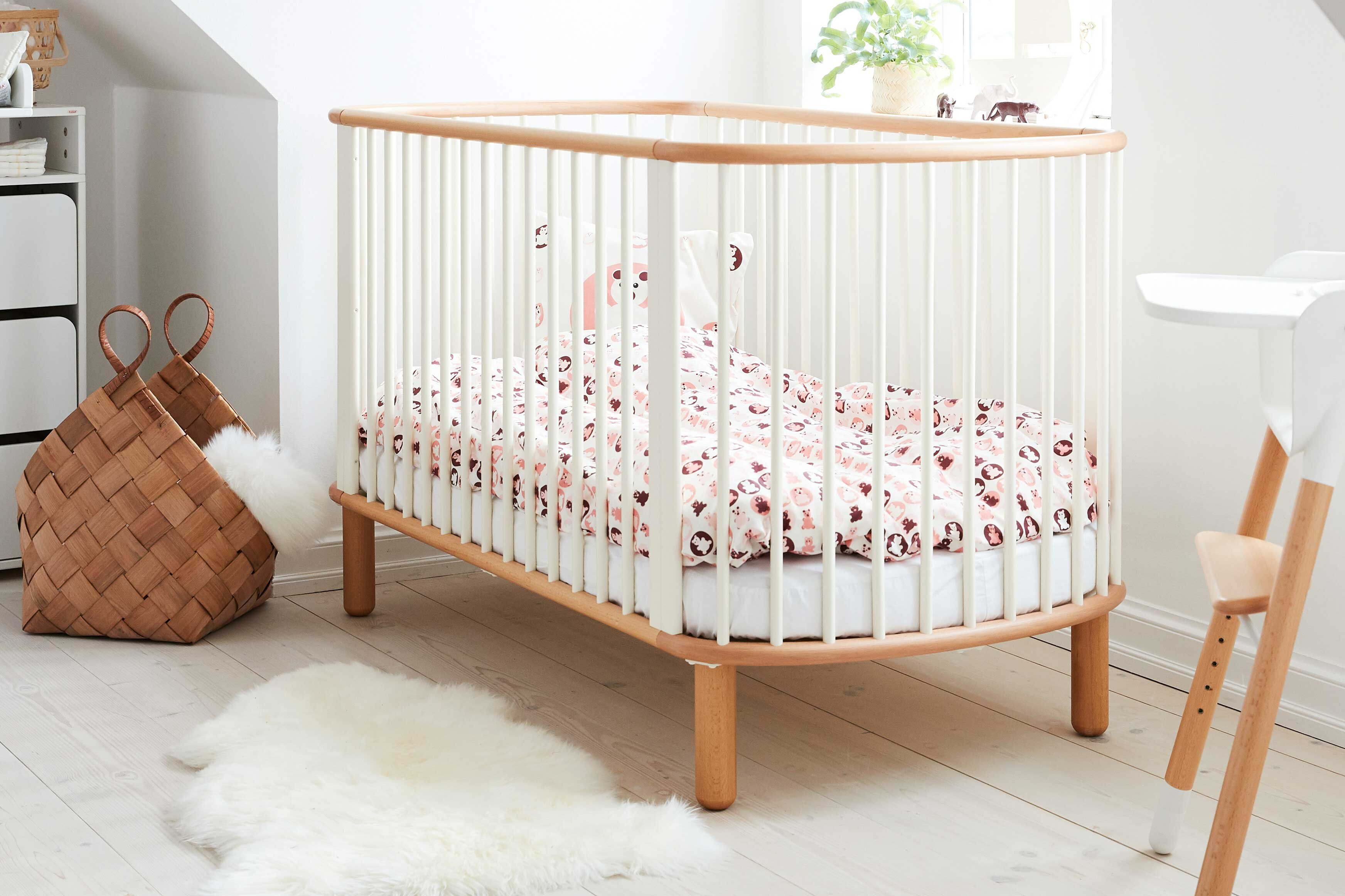 flexa baby sprossen kinderbett 5 in 1 m bel letz ihr online shop. Black Bedroom Furniture Sets. Home Design Ideas