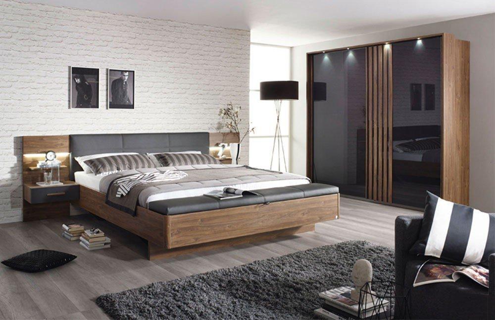 Entzuckend Mosbach Von Rauch Packu0027s   Schlafzimmer Eiche Stirling   Grau