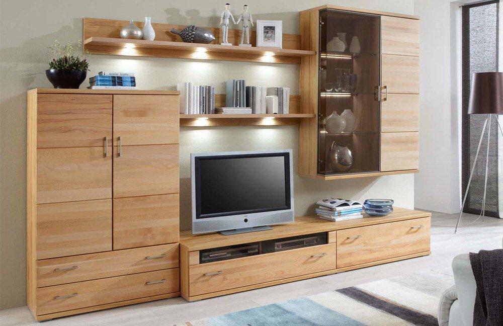 Ideal Möbel Wohnwand Preno 11 Kernbuche Möbel Letz Ihr Online Shop