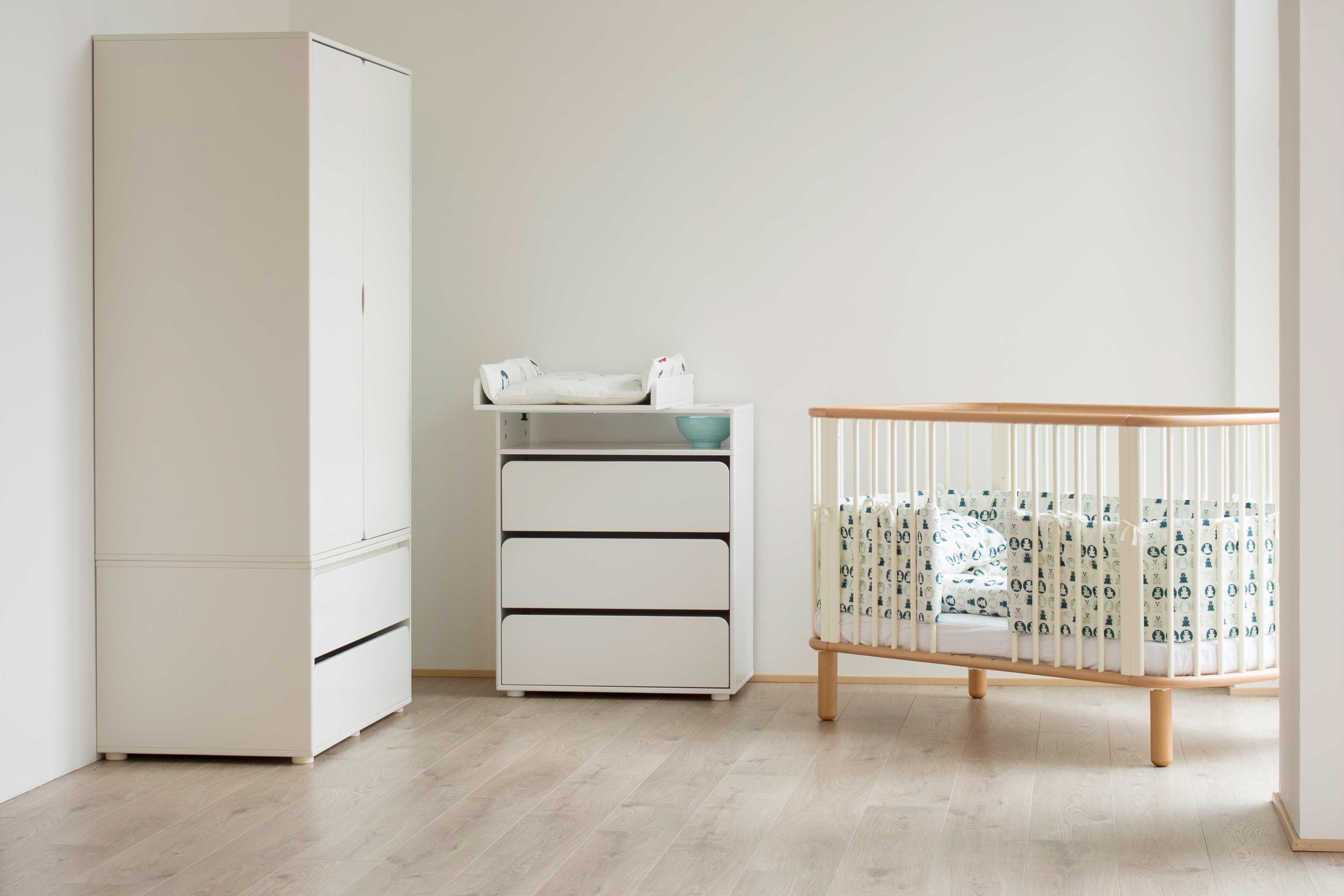 Babyzimmer möbel weiß  FLEXA Babyzimmer weiß Cabby & Baby | Möbel Letz - Ihr Online-Shop
