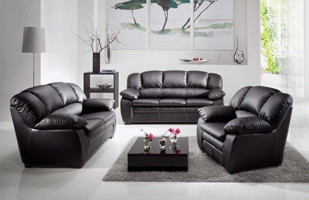 cotta casino i polstergarnitur in schwarz m bel letz ihr online shop. Black Bedroom Furniture Sets. Home Design Ideas
