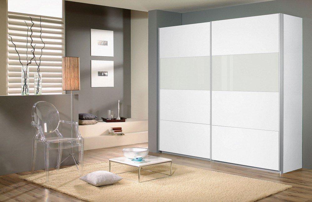 Rauch Quadra Schwebetürenschrank weiß | Möbel Letz - Ihr Online-Shop