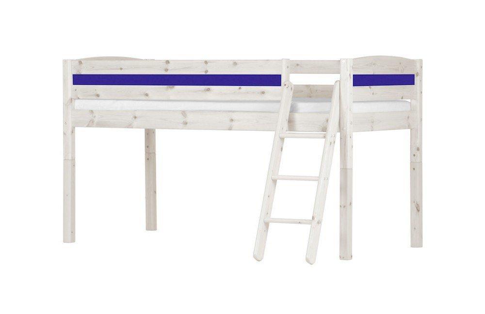 massivholz hochbett von flexa basic m bel letz ihr online shop. Black Bedroom Furniture Sets. Home Design Ideas