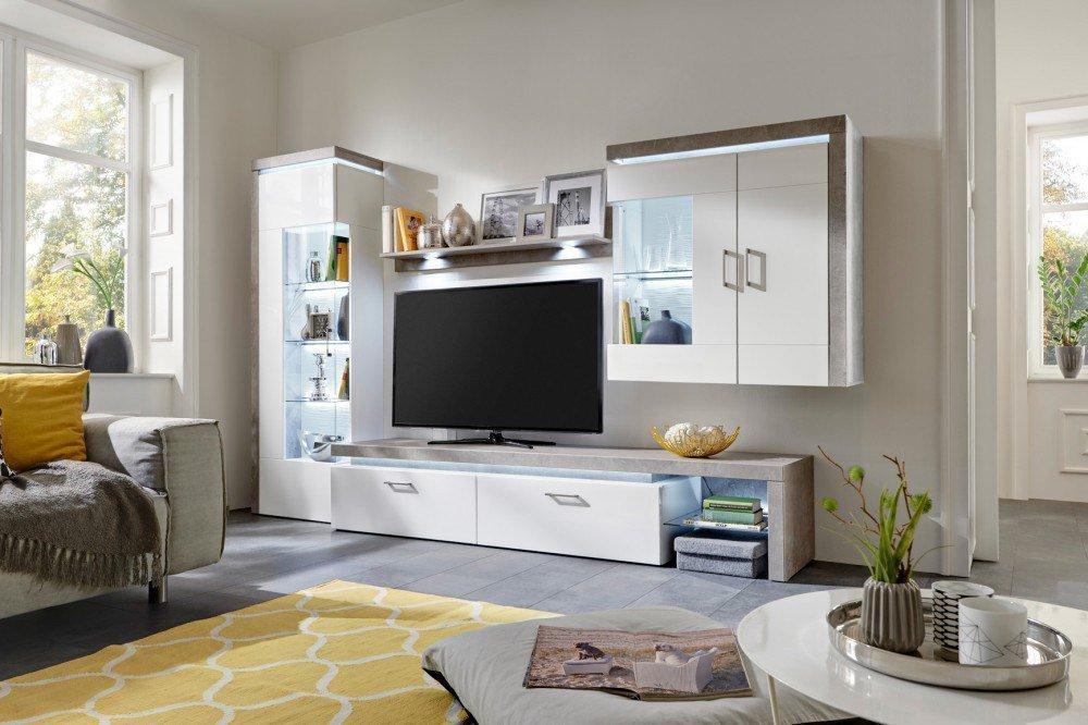 roller wohnwand buffalo interessante ideen f r die gestaltung eines raumes in. Black Bedroom Furniture Sets. Home Design Ideas