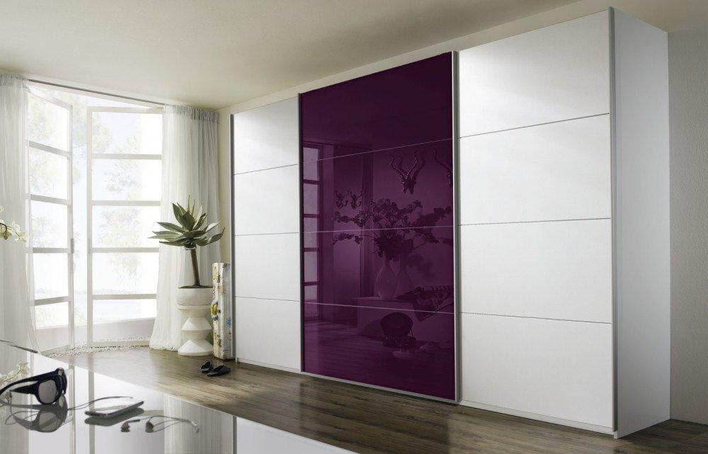 exceptional einfache dekoration und mobel rauch nachhaltige kleiderschraenke #9: Quadra von Rauch Packs - Kleiderschrank alpinweiß - brombeer