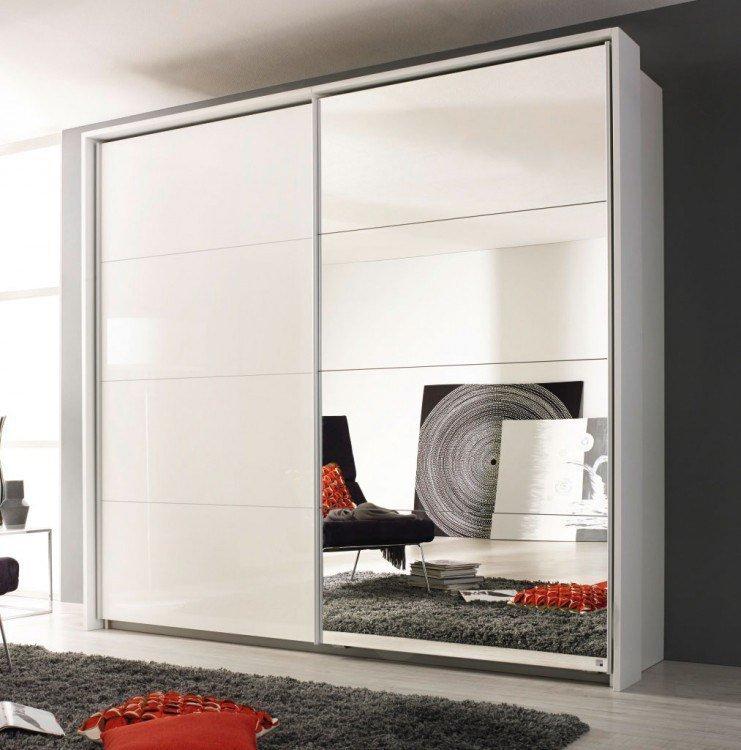 rauch quadra kleiderschrank wei spiegel m bel letz ihr online shop. Black Bedroom Furniture Sets. Home Design Ideas