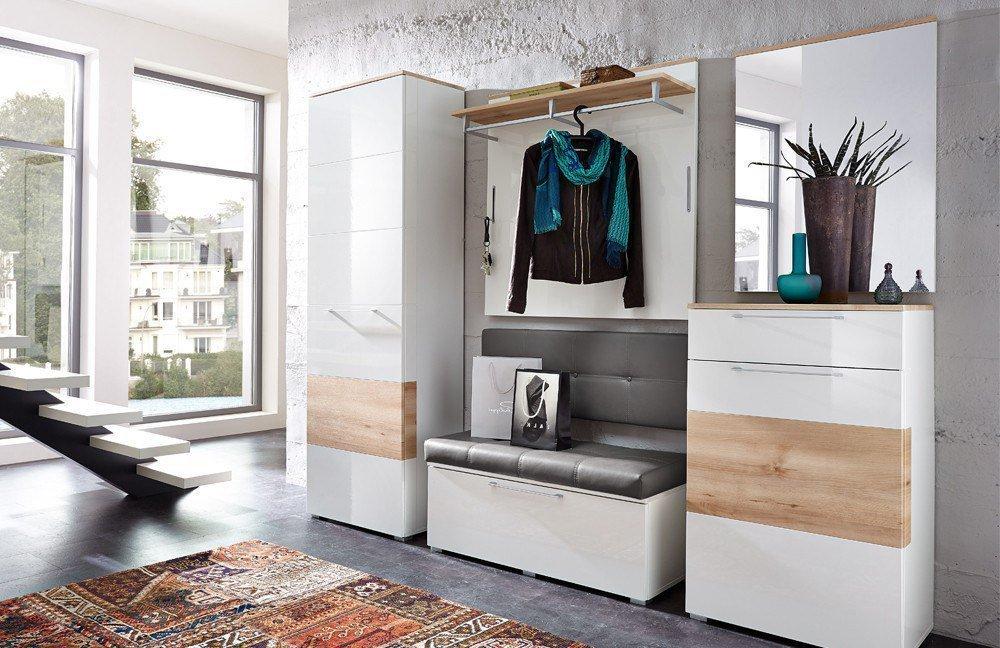 innostyle garderobe reno wei m bel letz ihr online shop. Black Bedroom Furniture Sets. Home Design Ideas