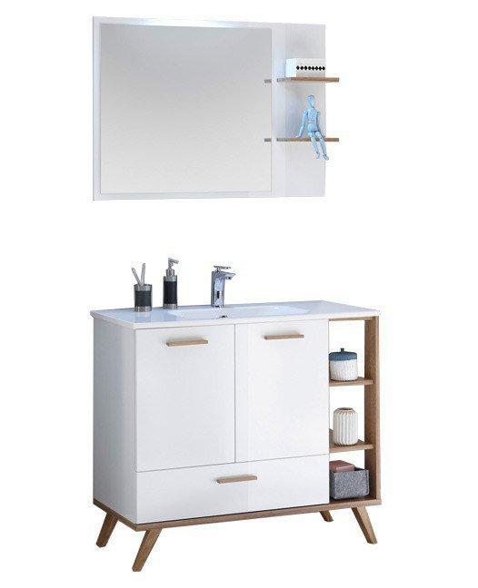 Pelipal Badezimmer Noventa/ Jenn weiß/ Eiche | Möbel Letz - Ihr ...