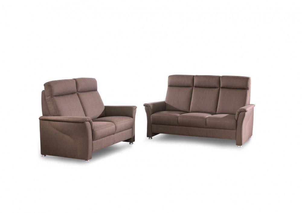 gruber polsterm bel imagine sofa duo in braun m bel letz ihr online shop. Black Bedroom Furniture Sets. Home Design Ideas