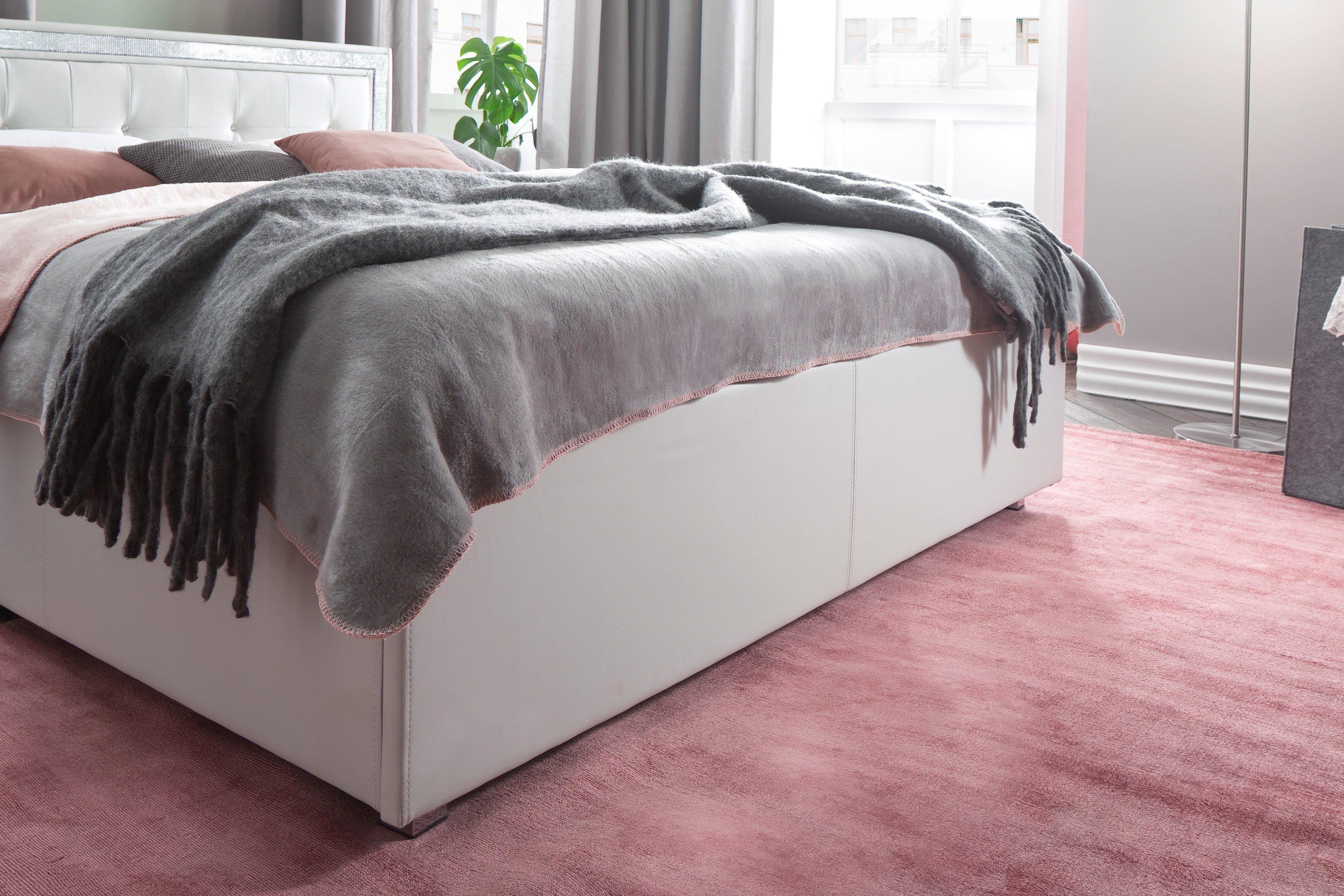 meise polsterbett mylife in kunstleder wei mit. Black Bedroom Furniture Sets. Home Design Ideas