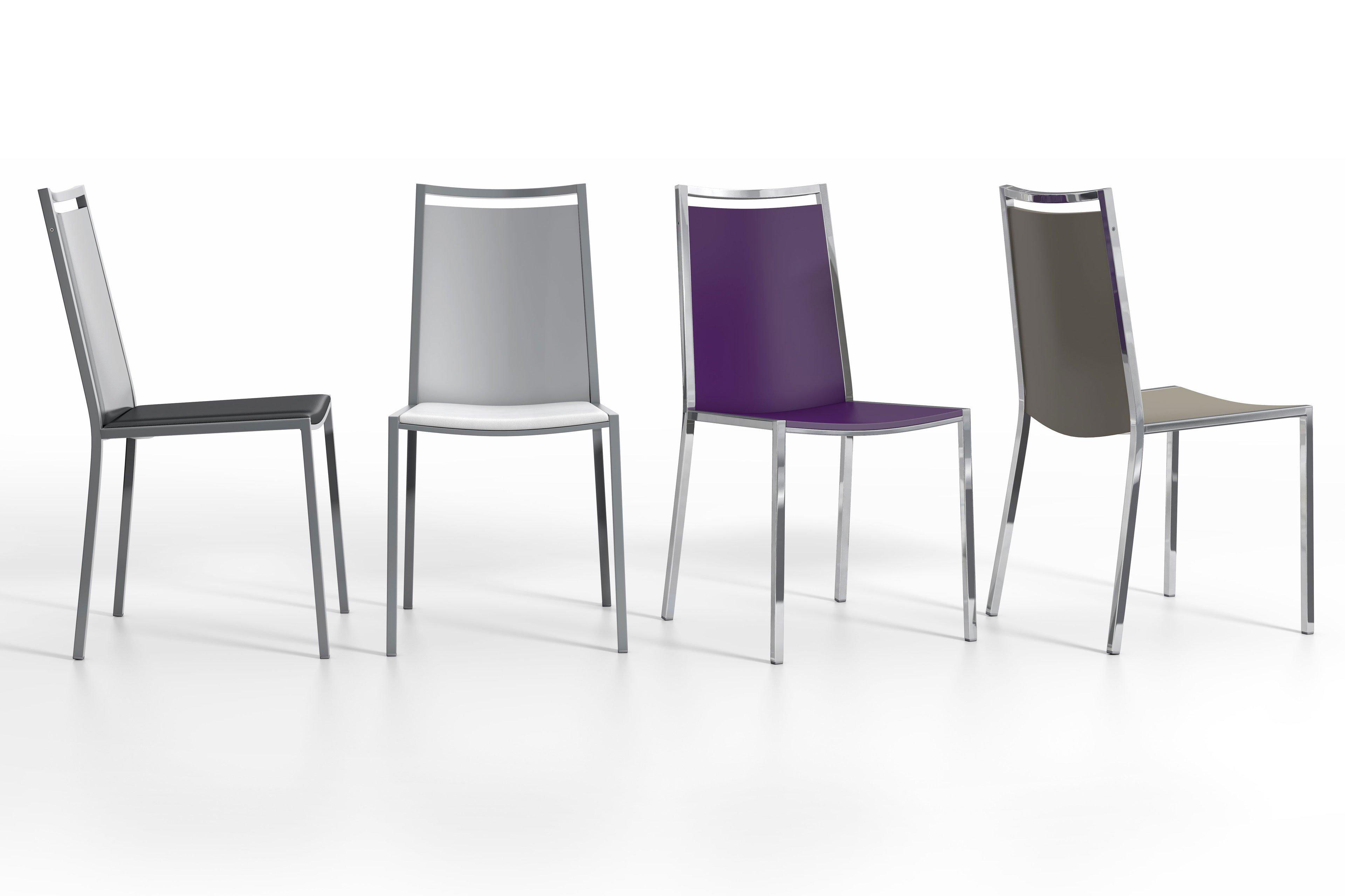 Beeindruckend Weisse Stühle Ideen Von Concept Von Cancio - Stuhl Mit Sitzpolster