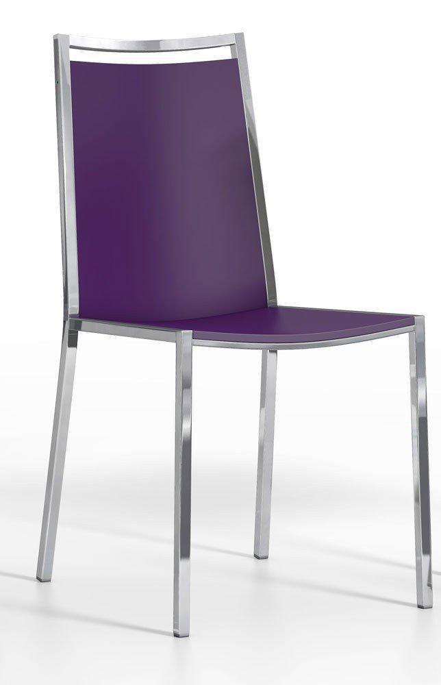 Violett Mit Gestell Holz Von Stuhl Concept Stahl Cancio trshCQxd