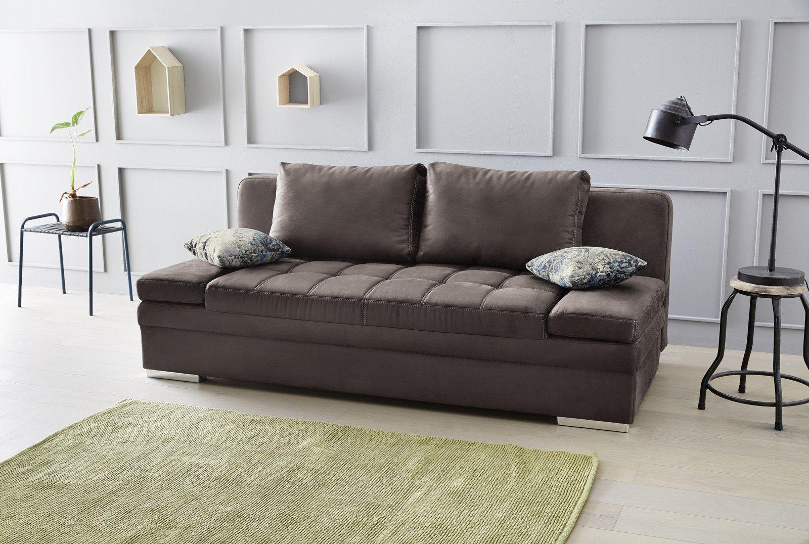 jockenh fer joshua schlafsofa in braun m bel letz ihr online shop. Black Bedroom Furniture Sets. Home Design Ideas