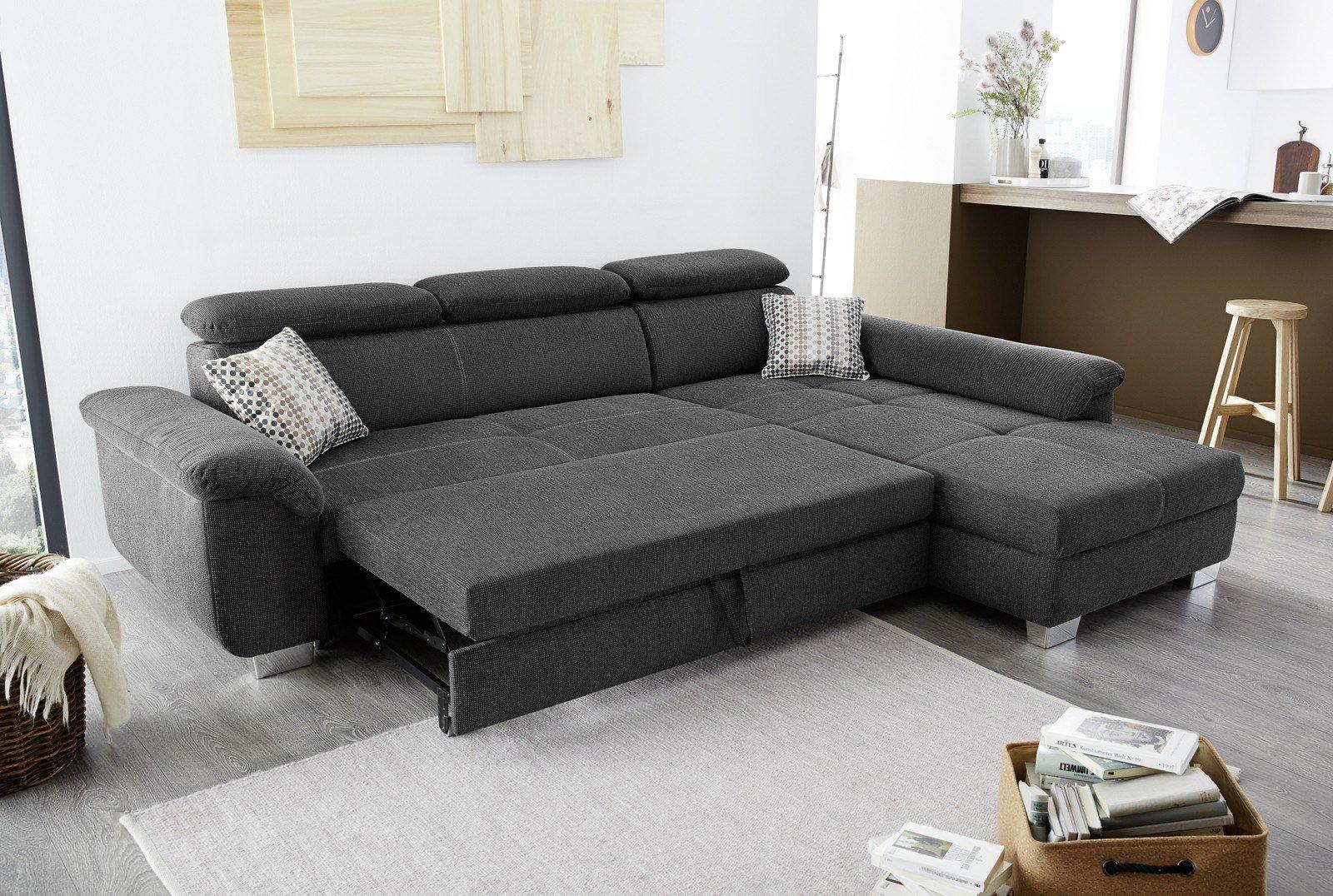 jockenh fer landshut ecksofa in anthrazit m bel letz ihr online shop. Black Bedroom Furniture Sets. Home Design Ideas