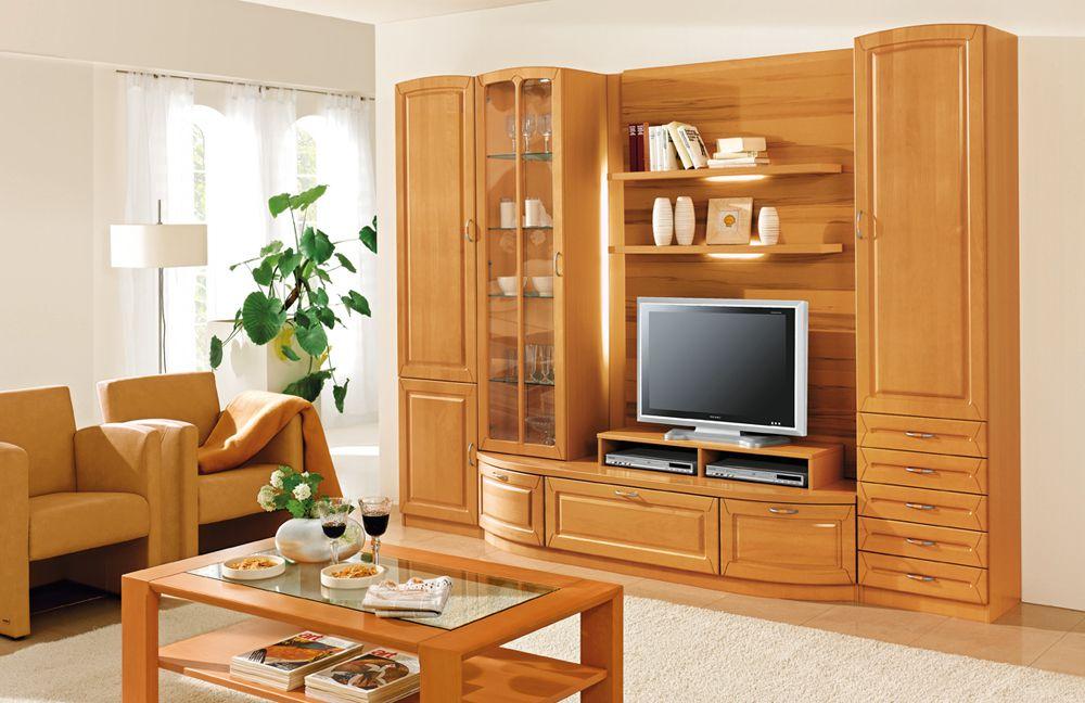 Wohnwand klassisch home design und m bel interieur for Schrankwand wohnzimmer klassisch