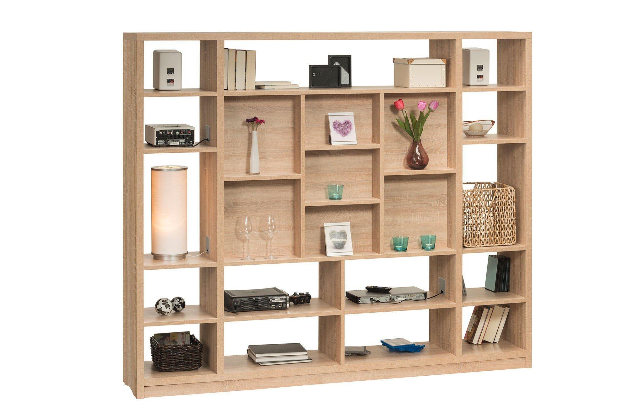 maja m bel raumteiler cableboard 6022 eiche m bel letz ihr online shop. Black Bedroom Furniture Sets. Home Design Ideas