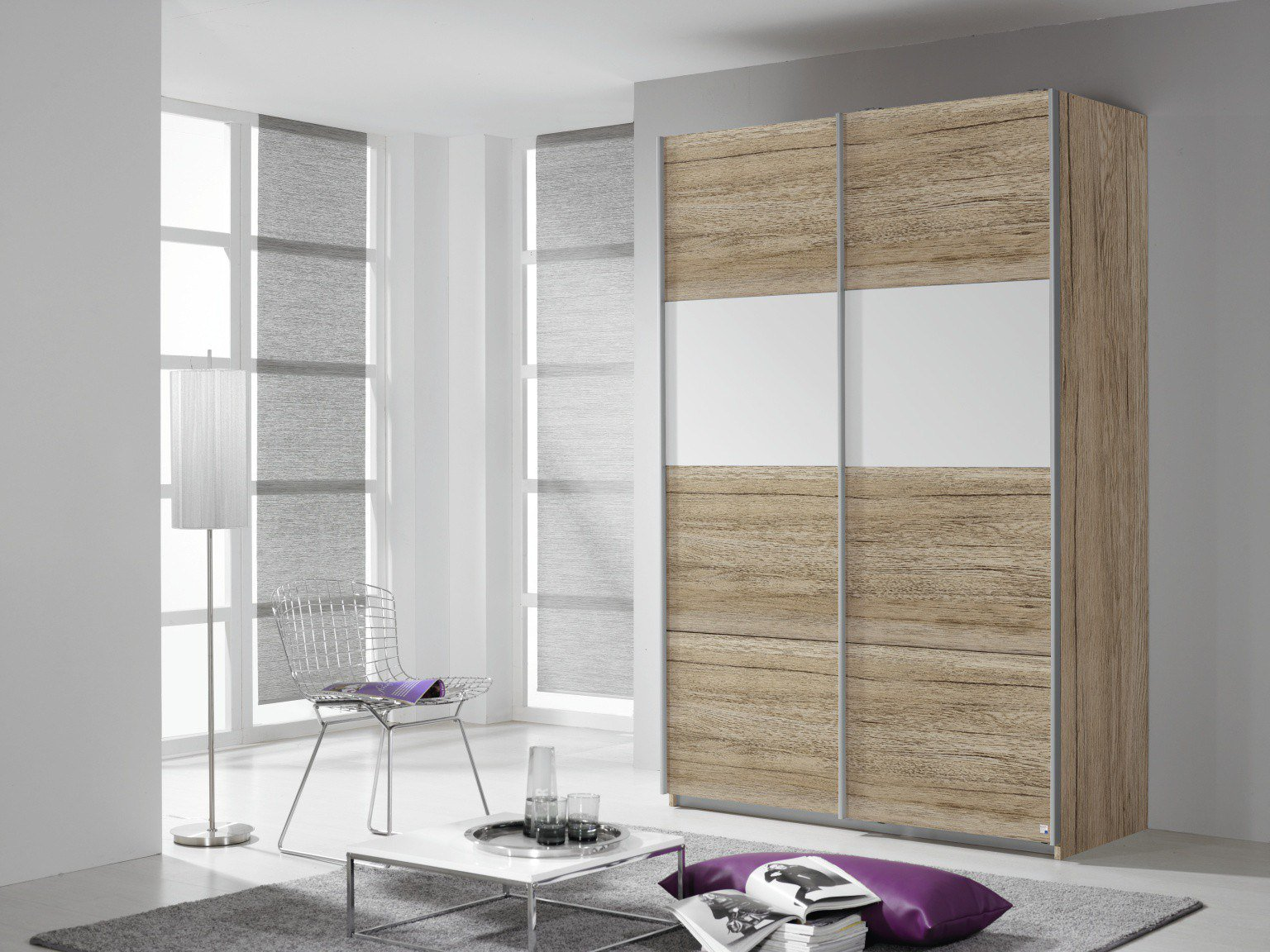 rauch quadra extra schrank sanremo eiche m bel letz ihr online shop. Black Bedroom Furniture Sets. Home Design Ideas