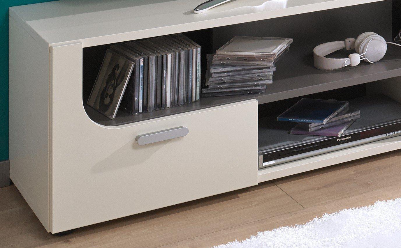 rudolf max i tv element kombi creme felsgrau m bel letz ihr online shop. Black Bedroom Furniture Sets. Home Design Ideas