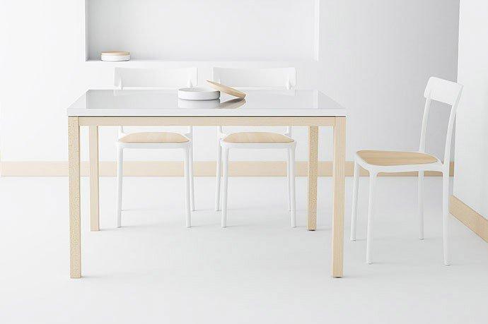 esstisch toy wei buche hell von cancio m bel letz ihr online shop. Black Bedroom Furniture Sets. Home Design Ideas