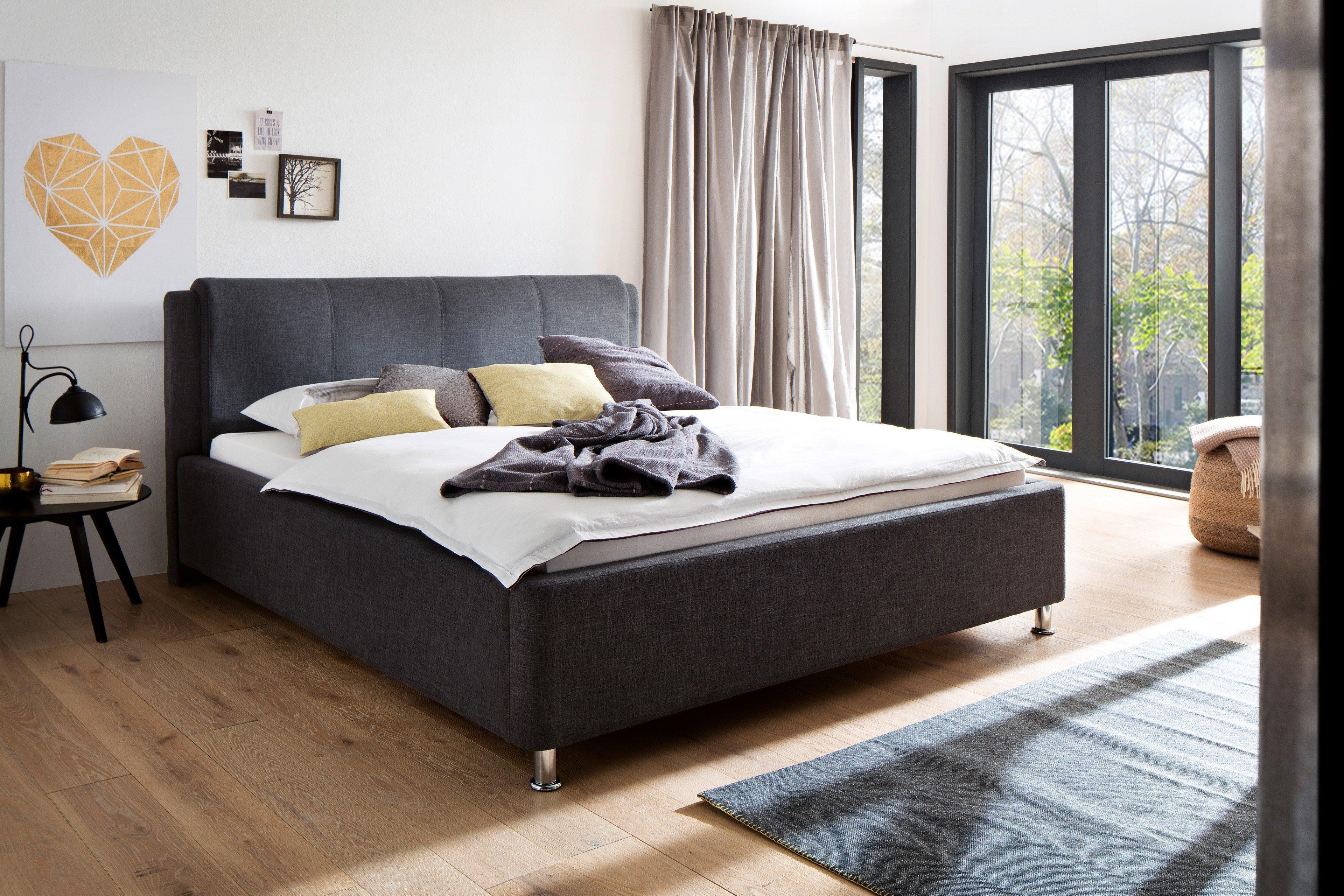 Fabelhaft Polsterbett Mit Bettkasten Dekoration Von El Paso Von Meise Möbel - Anthrazit