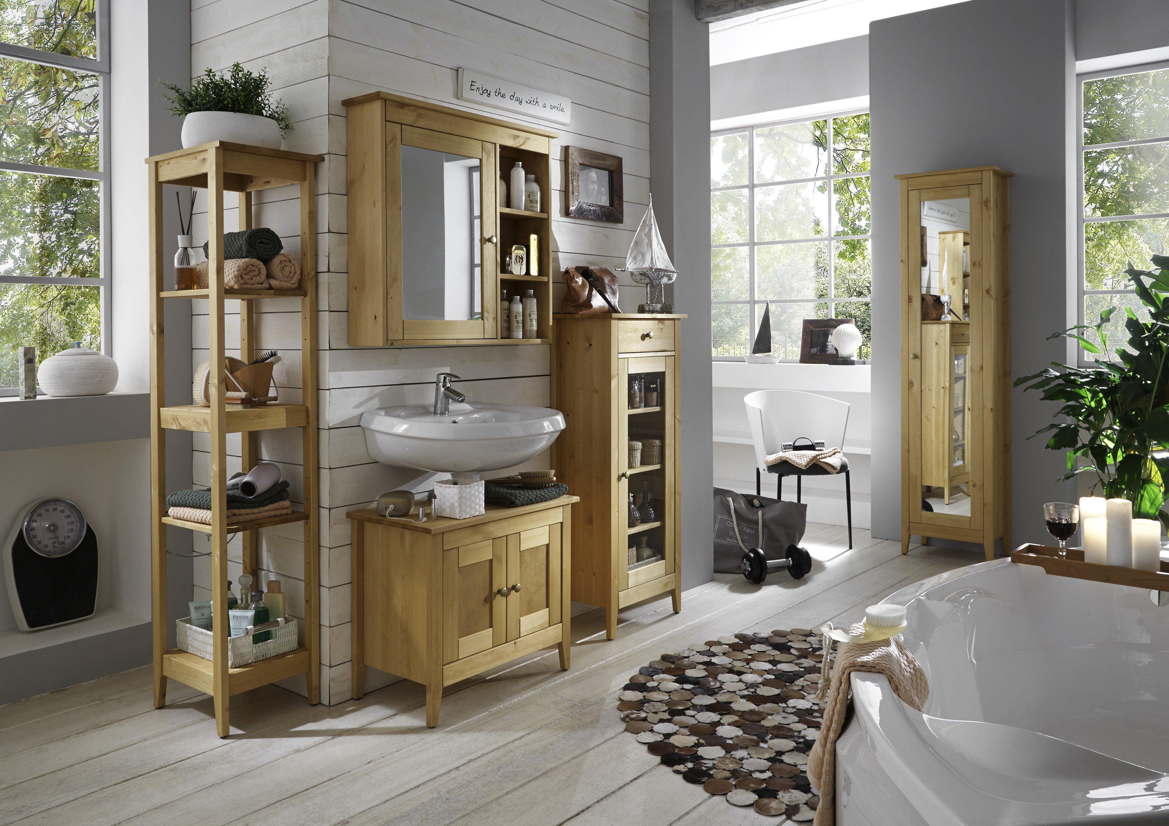 Pure Natur Badezimmer Kjell Kiefer | Möbel Letz - Ihr Online-Shop
