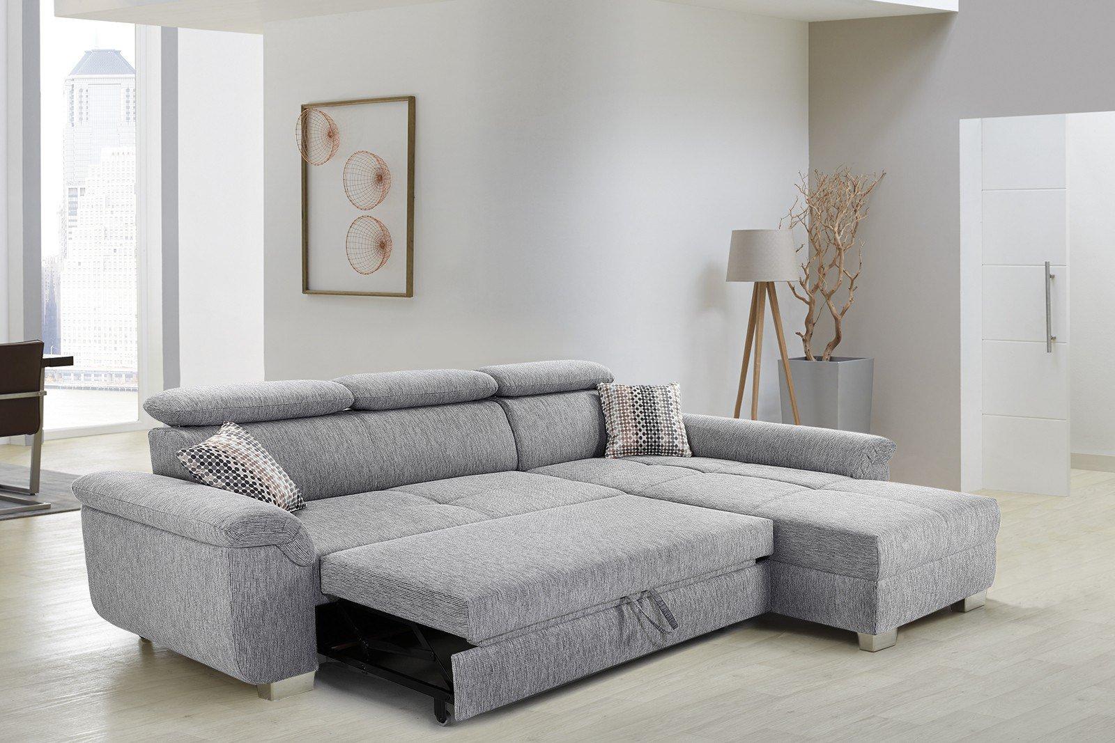Jockenhöfer Landshut Eckcouch grau | Möbel Letz - Ihr Online-Shop