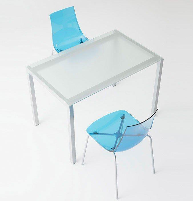 Esstisch Logic Glas/ Stahl von CANCIO | Möbel Letz - Ihr Online-Shop