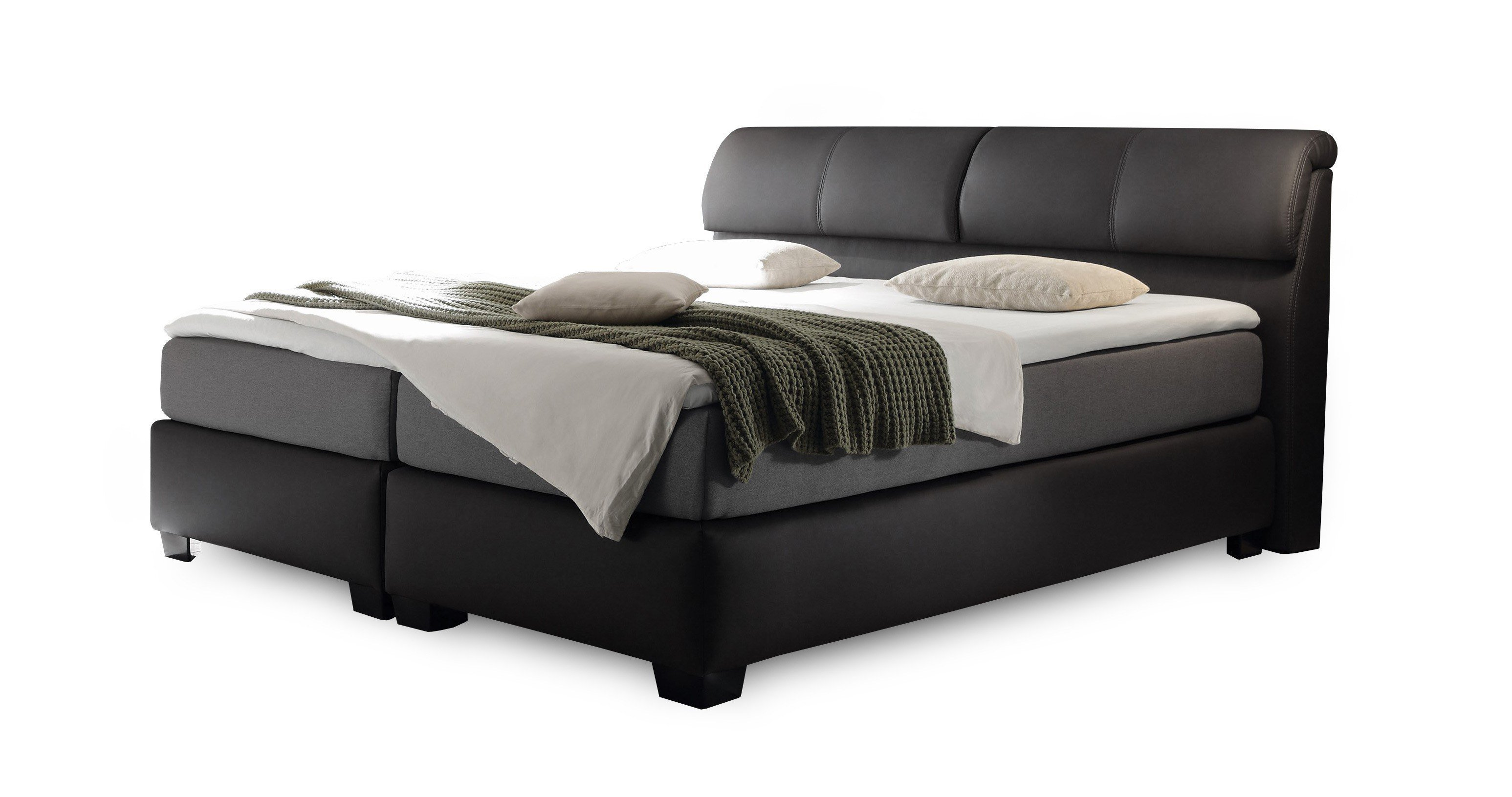 box spring bett fabulous box spring bett with box spring. Black Bedroom Furniture Sets. Home Design Ideas