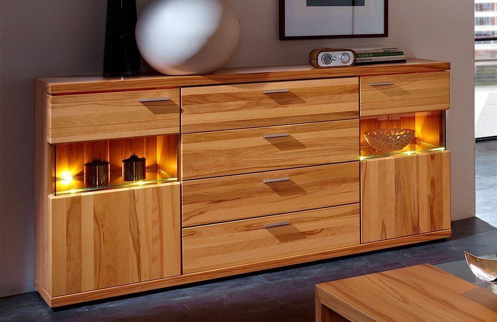 schr der m bel wohnwand finesse v2 kernbuche m bel letz ihr online shop. Black Bedroom Furniture Sets. Home Design Ideas