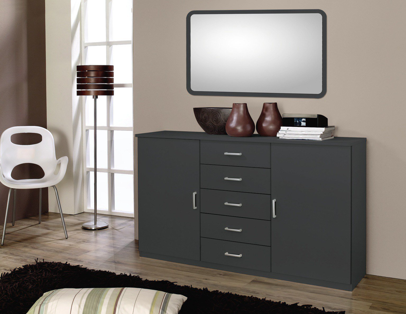 rauch quadra kommode wei m bel letz ihr online shop. Black Bedroom Furniture Sets. Home Design Ideas