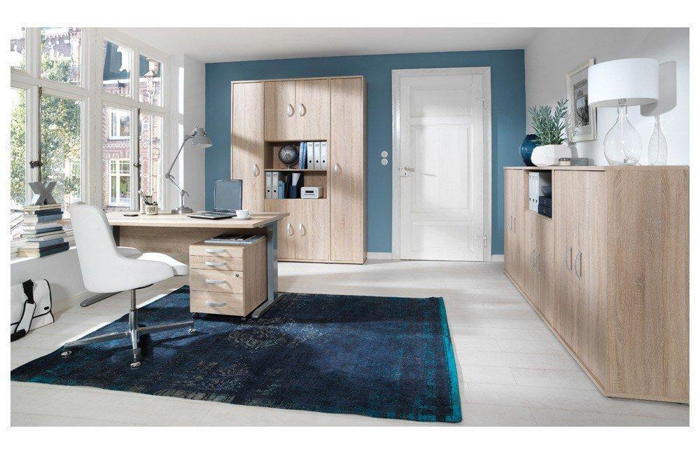 Wellemöbel Büro Combi+ 5 Wildeiche   Möbel Letz - Ihr Online-Shop