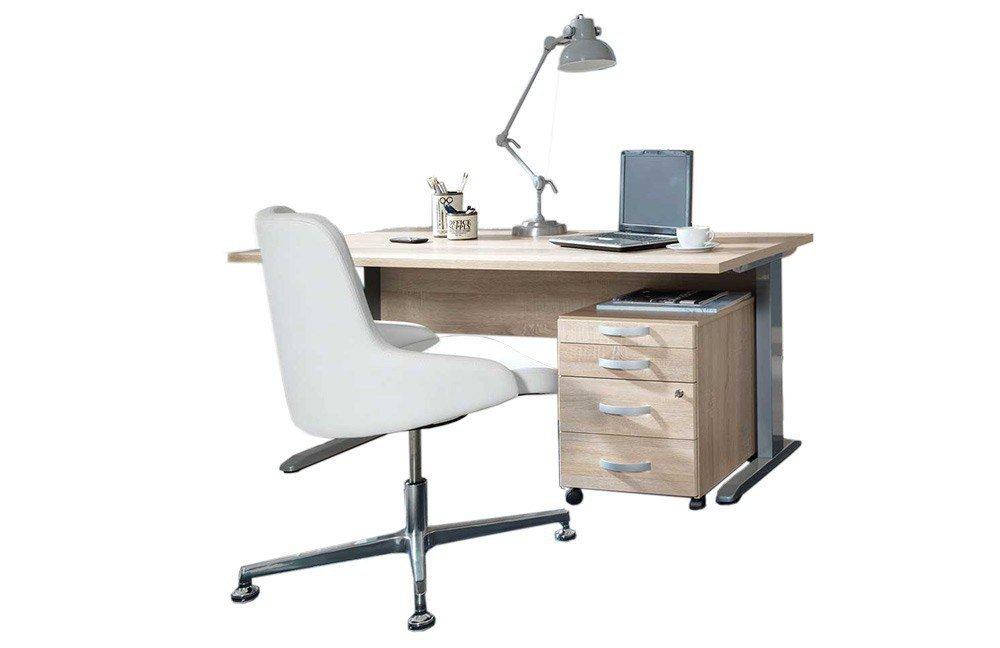 Schreibtisch büro  Wellemöbel Büro Combi+ 5 Wildeiche | Möbel Letz - Ihr Online-Shop
