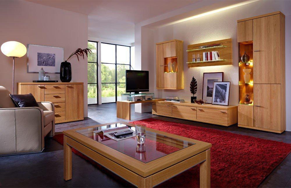 schr der m bel wohnwand finesse v5 eiche natur von schr der wohnm bel m bel letz ihr online shop. Black Bedroom Furniture Sets. Home Design Ideas