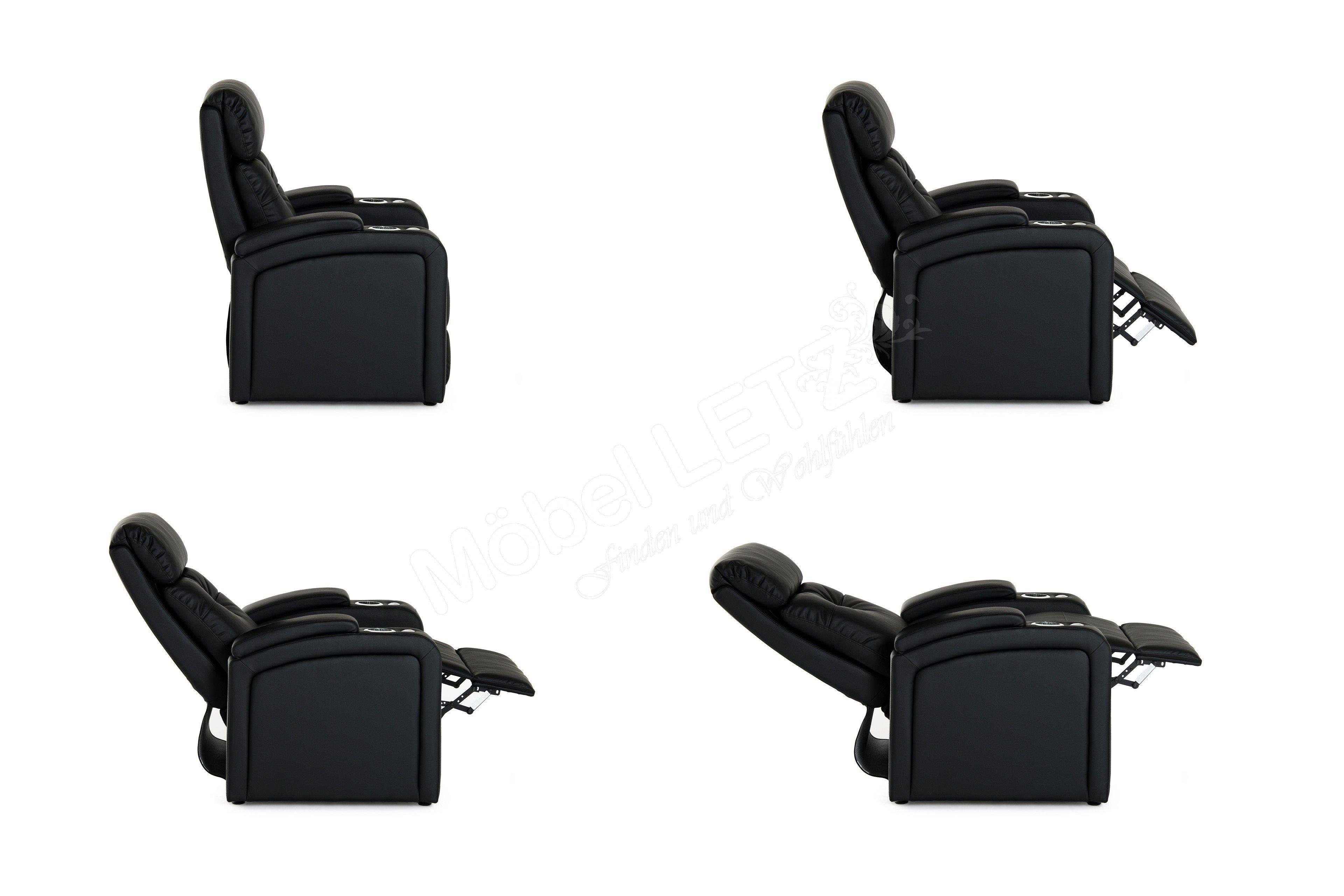 Procom Houston 1 Cinema Sessel In Schwarz Möbel Letz Ihr Online