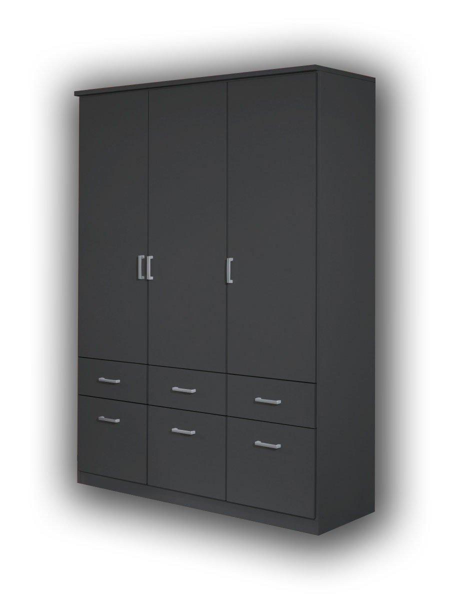rauch bremen kombischrank grau metallic m bel letz ihr online shop. Black Bedroom Furniture Sets. Home Design Ideas