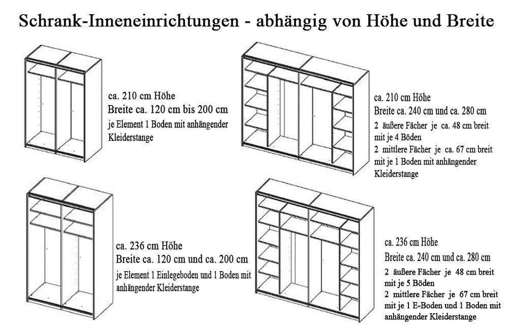Rudolf loop Kleiderschrank bordeaux weiß | Möbel Letz - Ihr Online-Shop