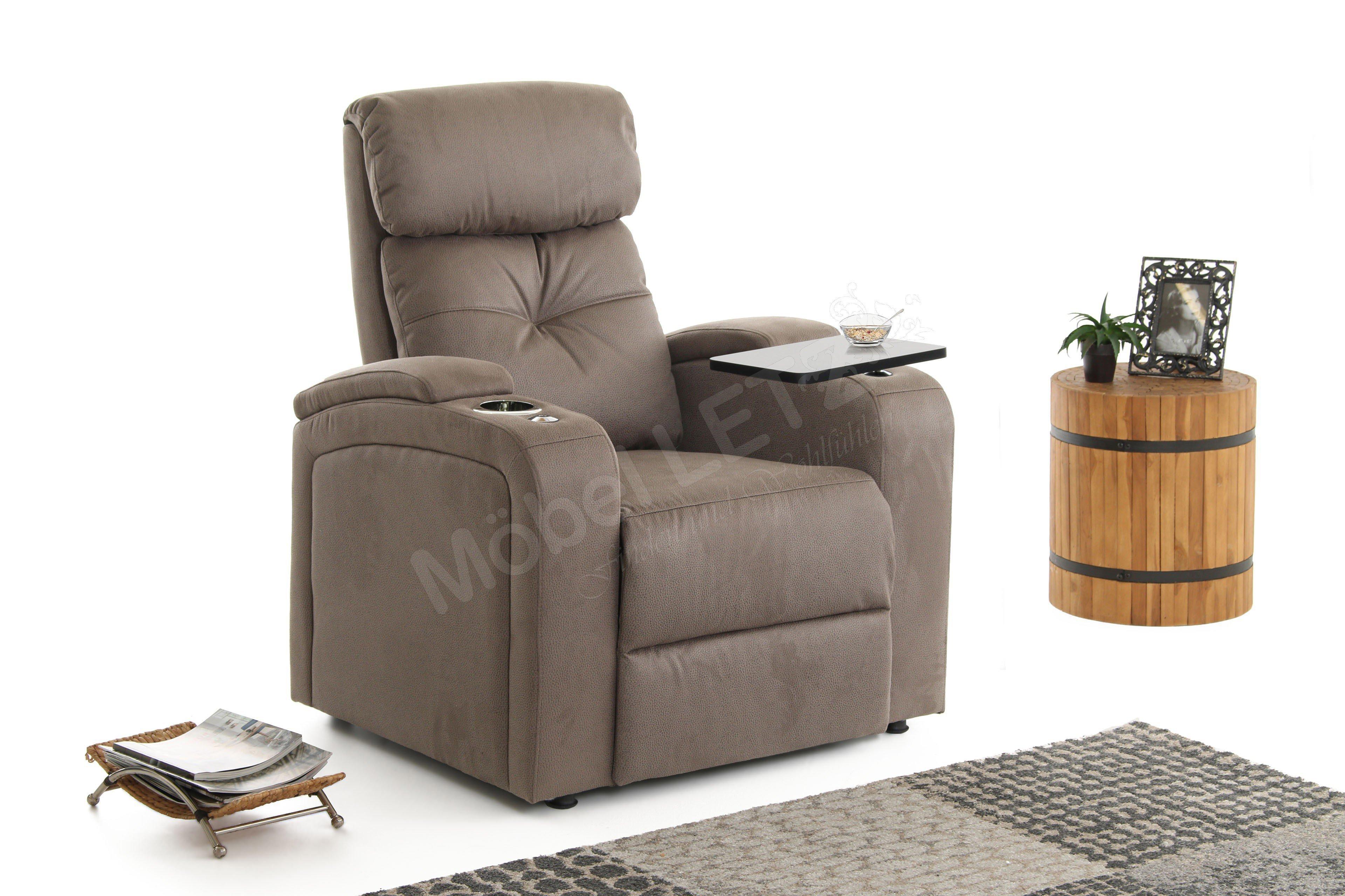 Procom Houston 1 Relaxsessel In Braun Möbel Letz Ihr Online Shop