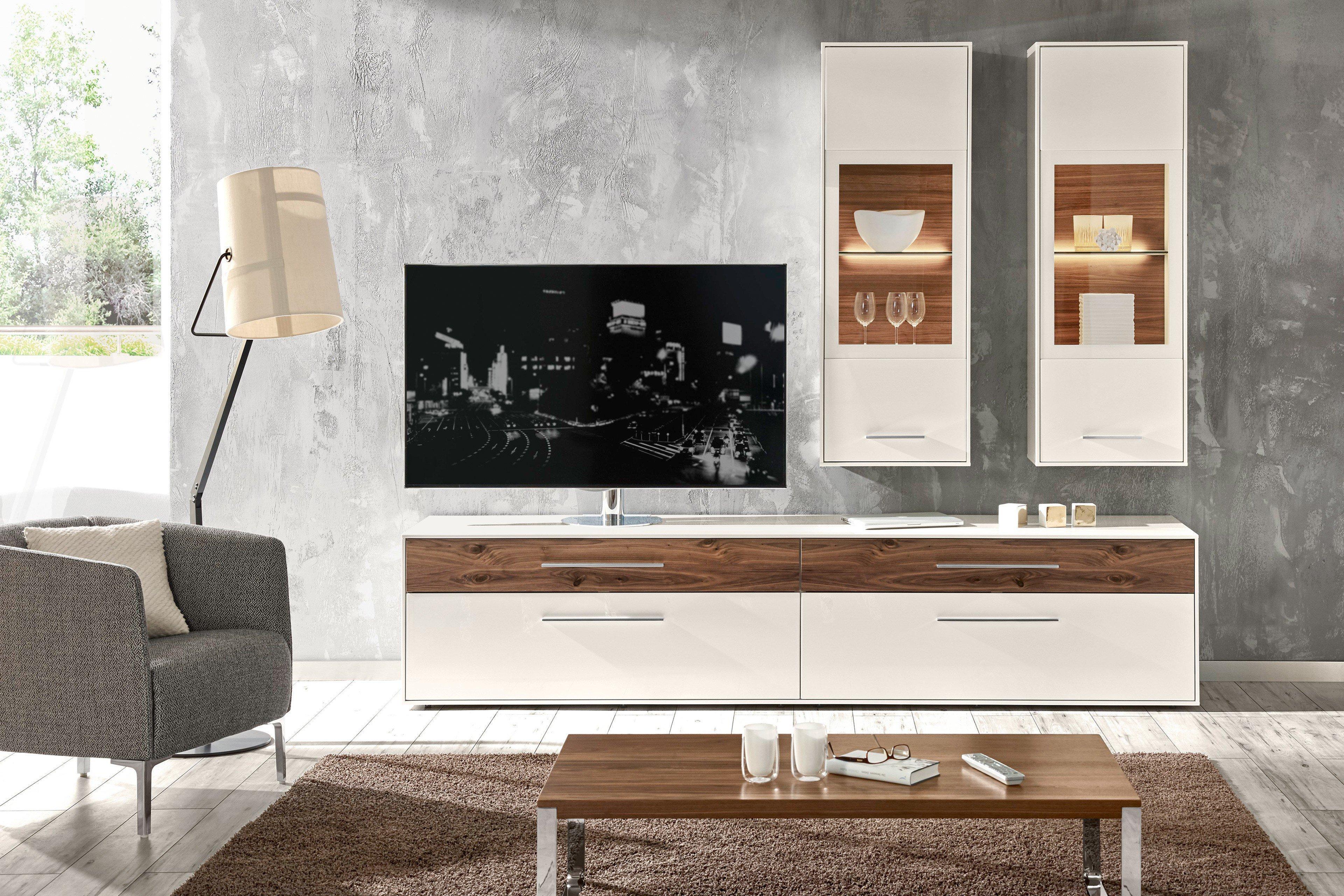 loddenkemper wohnzimmer | möbel letz - ihr online-shop - Wohnzimmer Weis Nussbaum