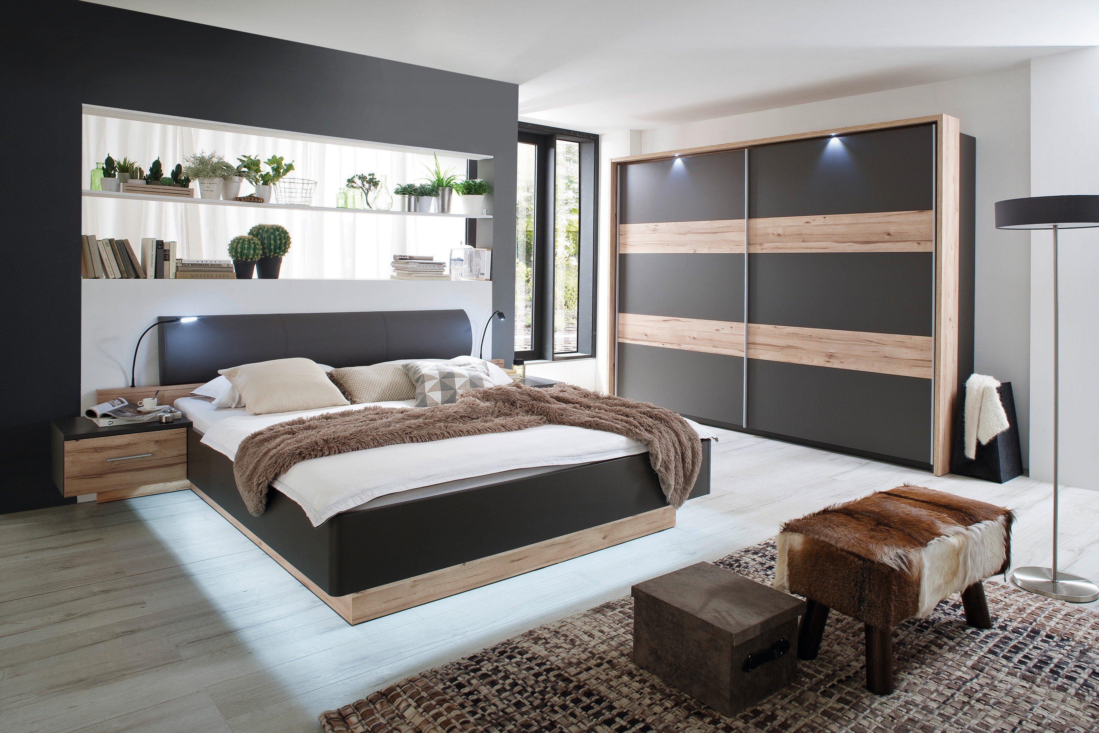 forte venedig schlafzimmer grau eiche m bel letz ihr. Black Bedroom Furniture Sets. Home Design Ideas