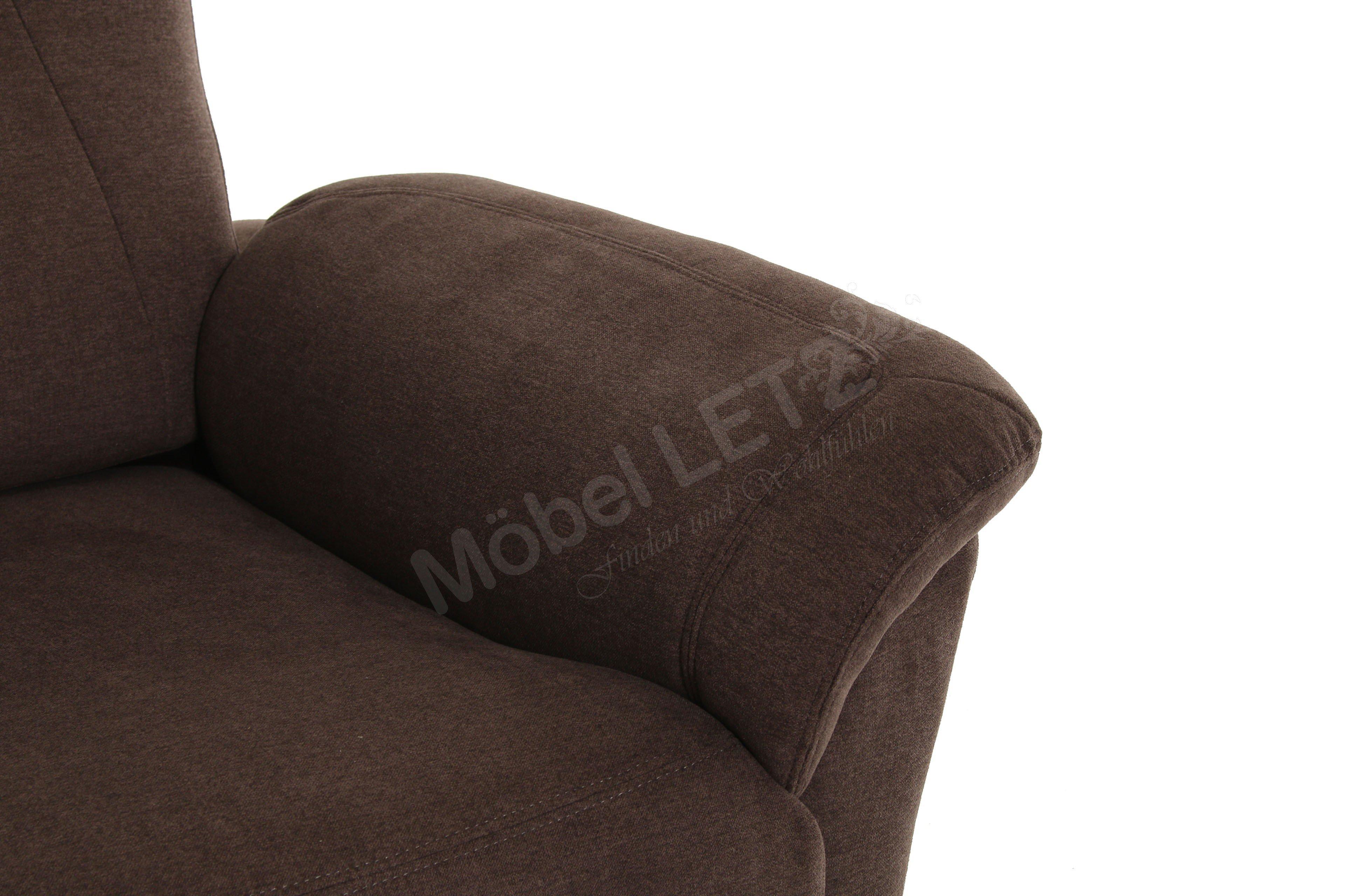 pro com tessin fernsehsessel in braun m bel letz ihr online shop. Black Bedroom Furniture Sets. Home Design Ideas