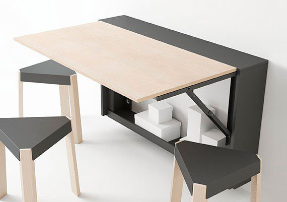 cancio klapptisch esstisch block buche wei laminiert m bel letz ihr online shop. Black Bedroom Furniture Sets. Home Design Ideas