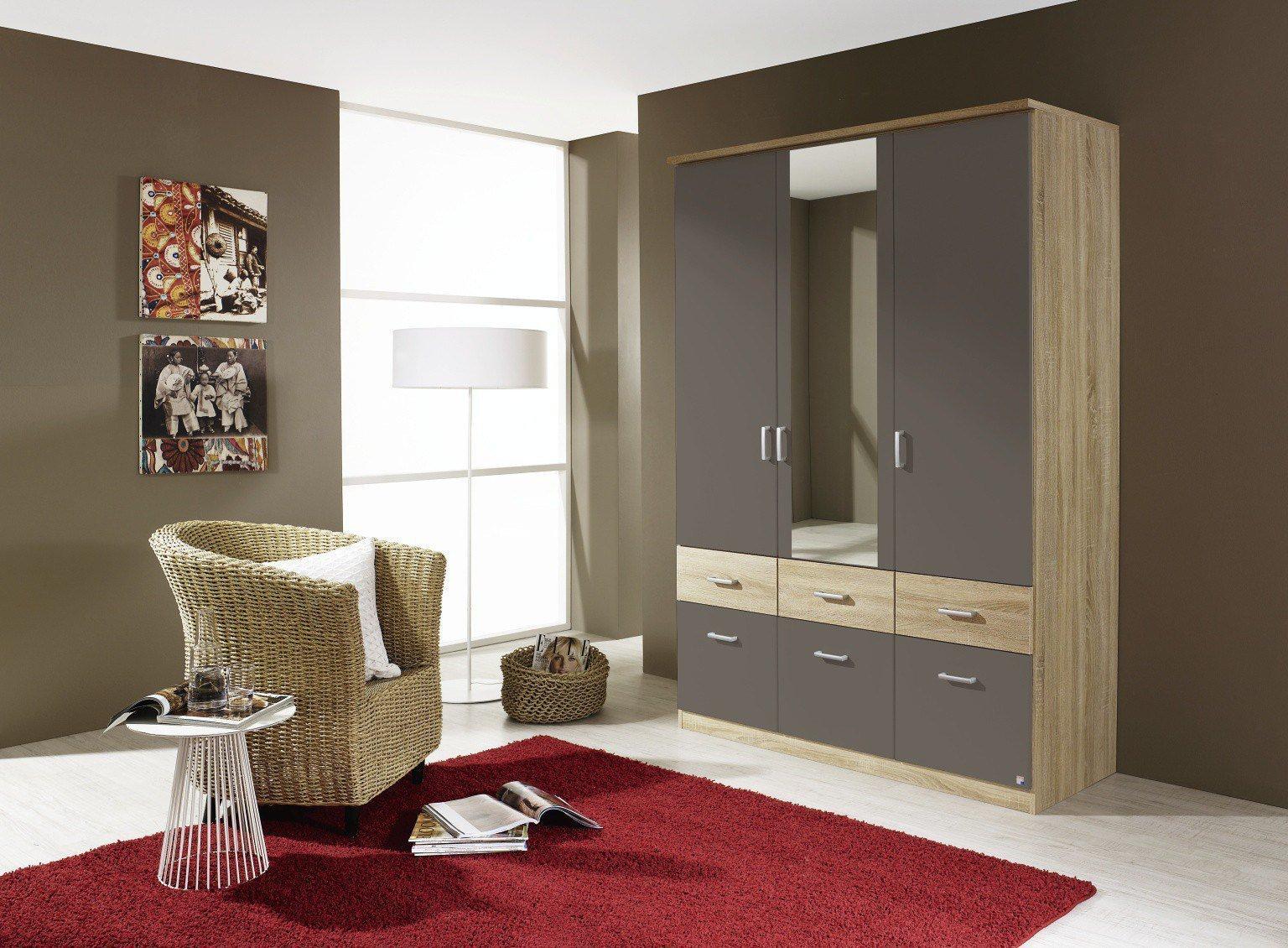 rauch bremen extra eiche stirling wei m bel letz ihr online shop. Black Bedroom Furniture Sets. Home Design Ideas