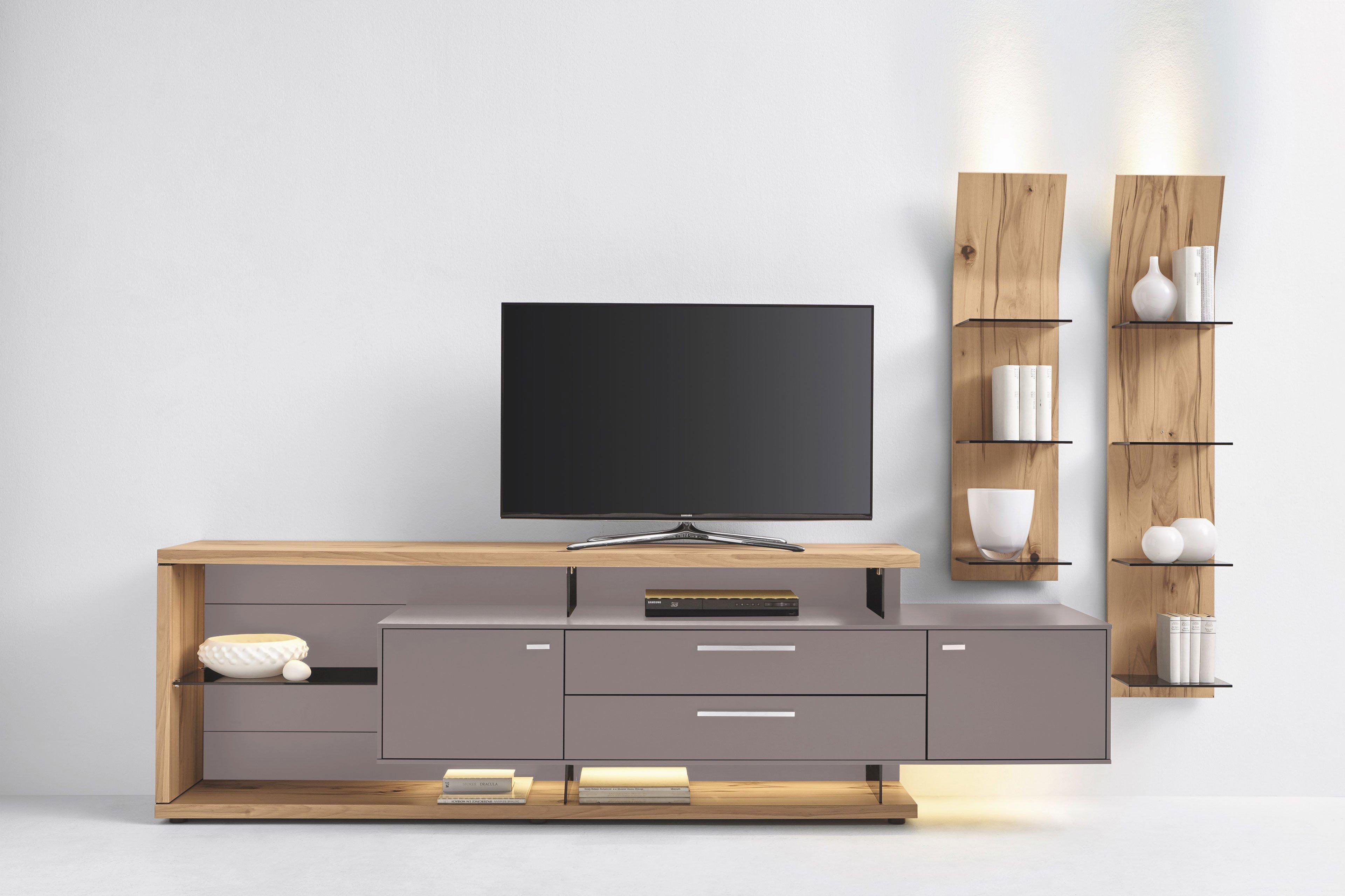 gwinner wohnwand media concept mc906 fango eiche m bel letz ihr online shop. Black Bedroom Furniture Sets. Home Design Ideas