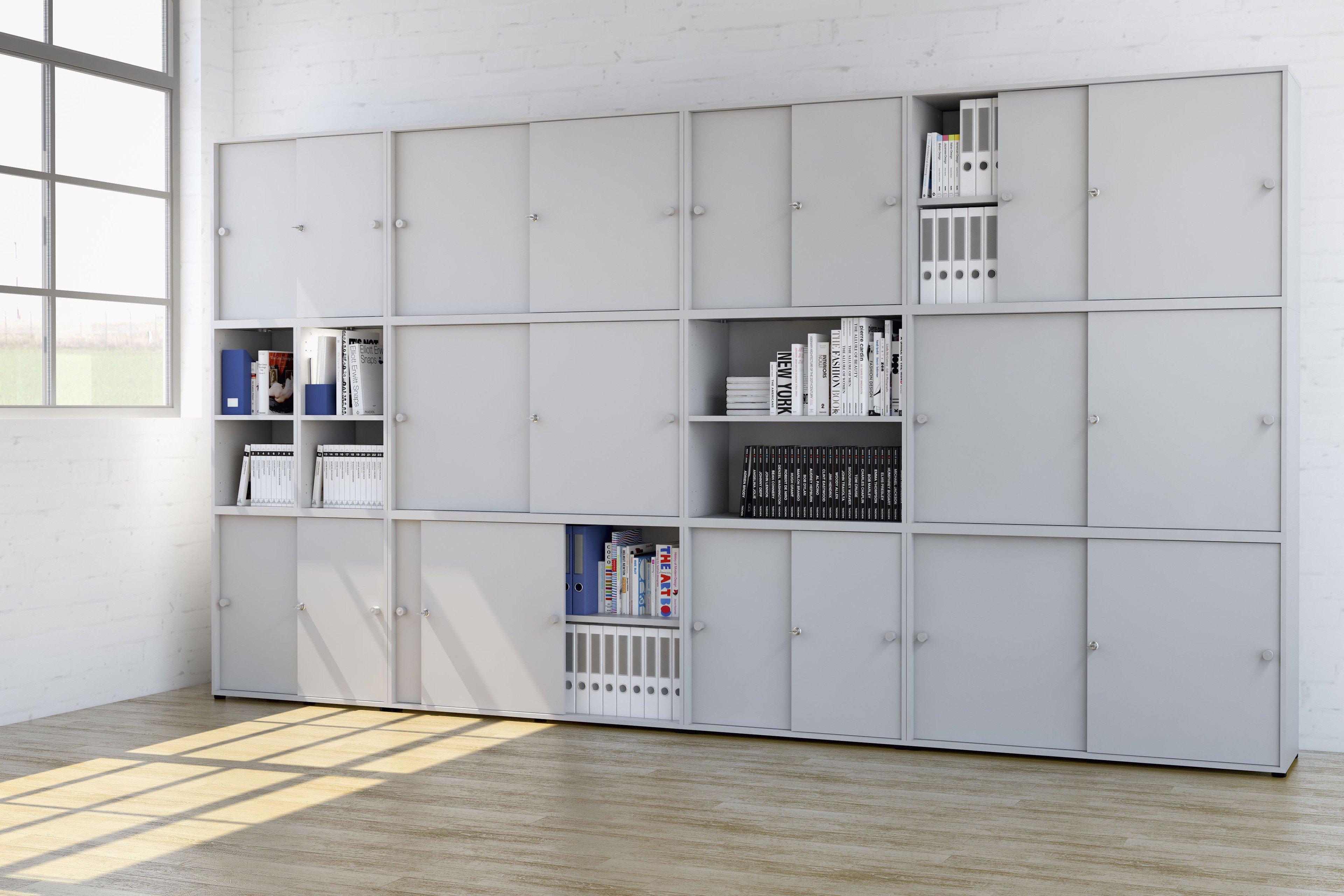 welle aktenschrank system kyro office grau m bel letz ihr online shop. Black Bedroom Furniture Sets. Home Design Ideas
