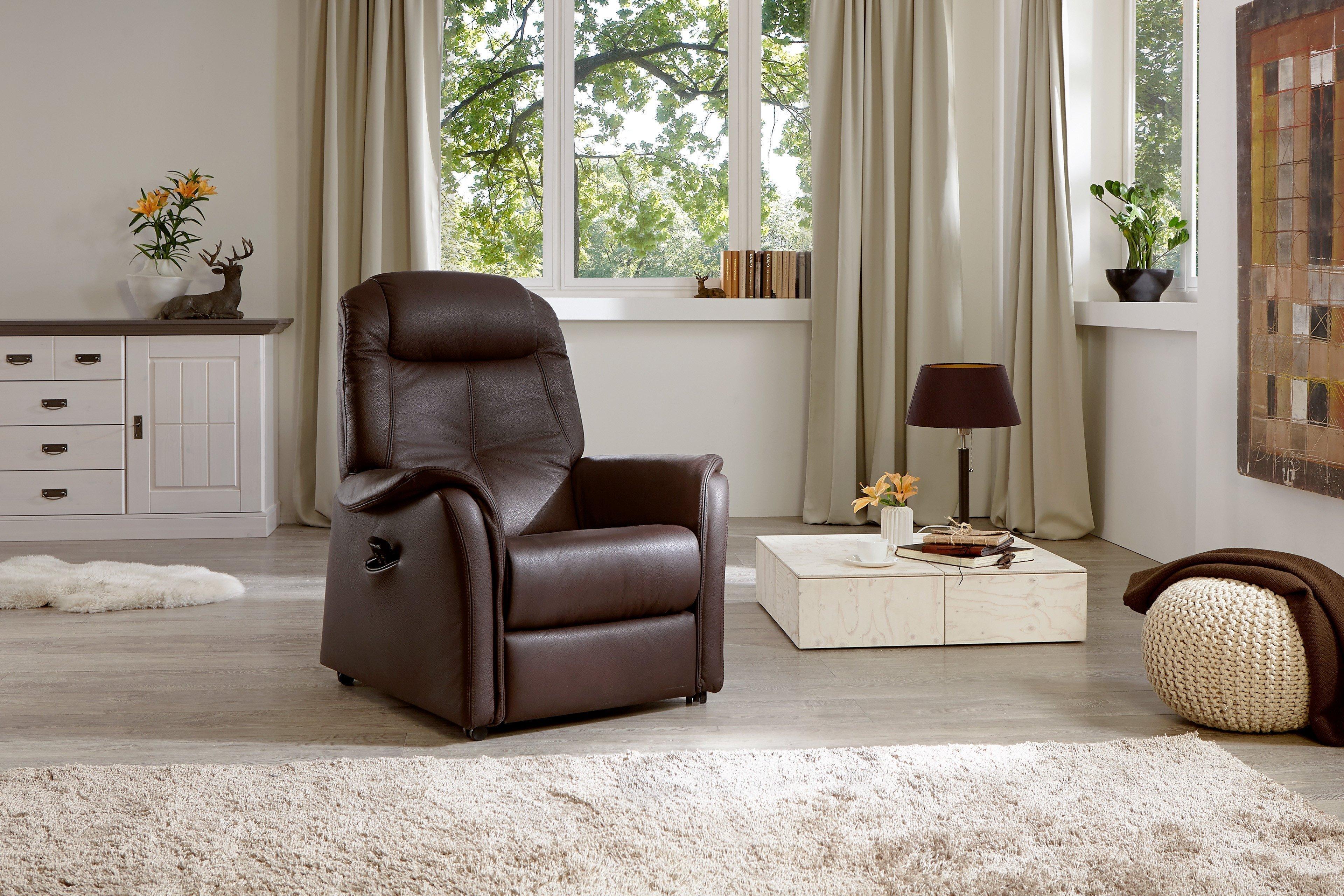 Hukla Ap06 Relaxsessel In Braun Möbel Letz Ihr Online Shop
