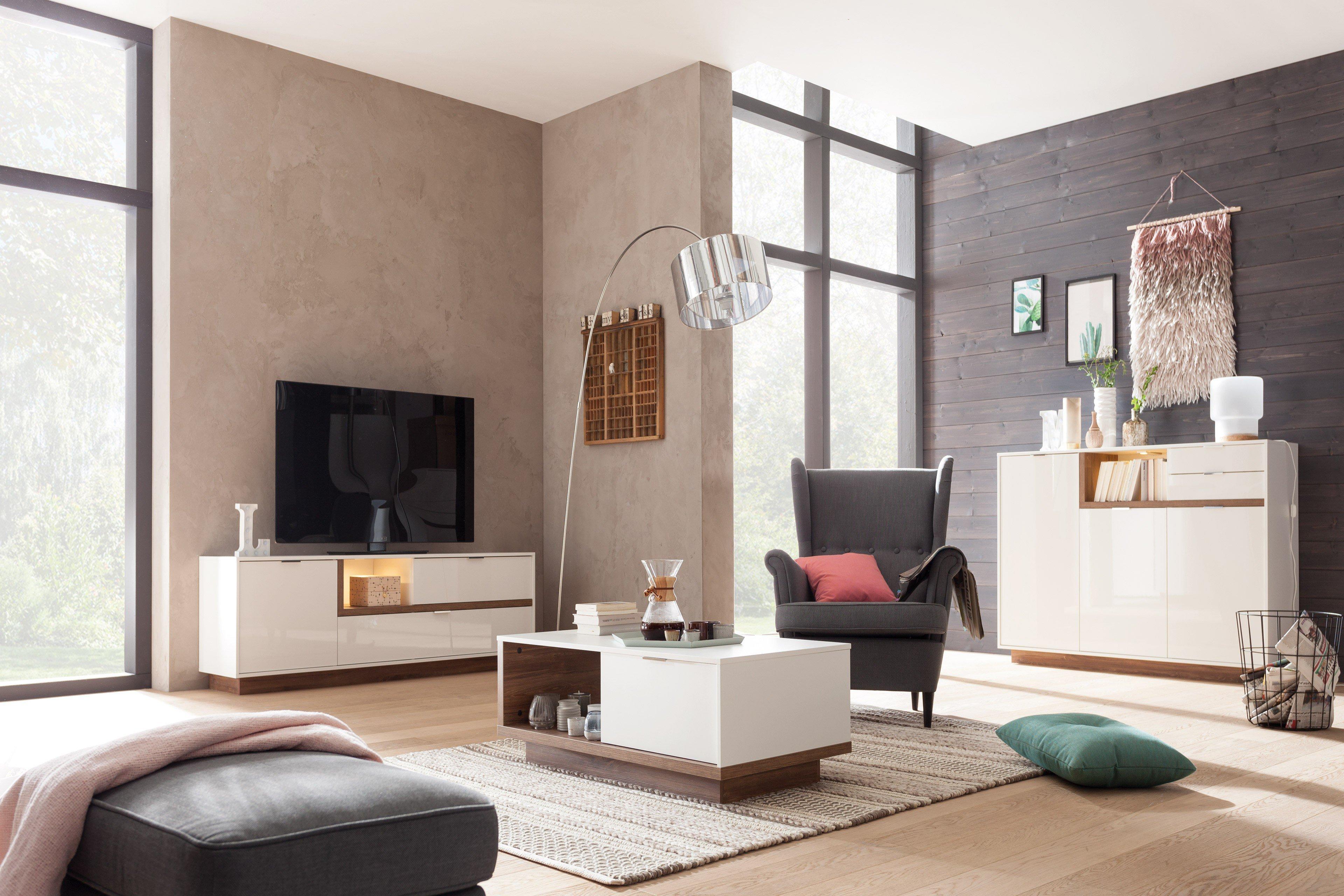 cs schmalm bel lowboard my ell wei stirling eiche m bel letz ihr online shop. Black Bedroom Furniture Sets. Home Design Ideas