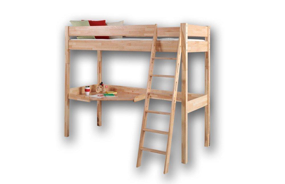 relita renate hochbett mit schreibtisch m bel letz ihr online shop. Black Bedroom Furniture Sets. Home Design Ideas