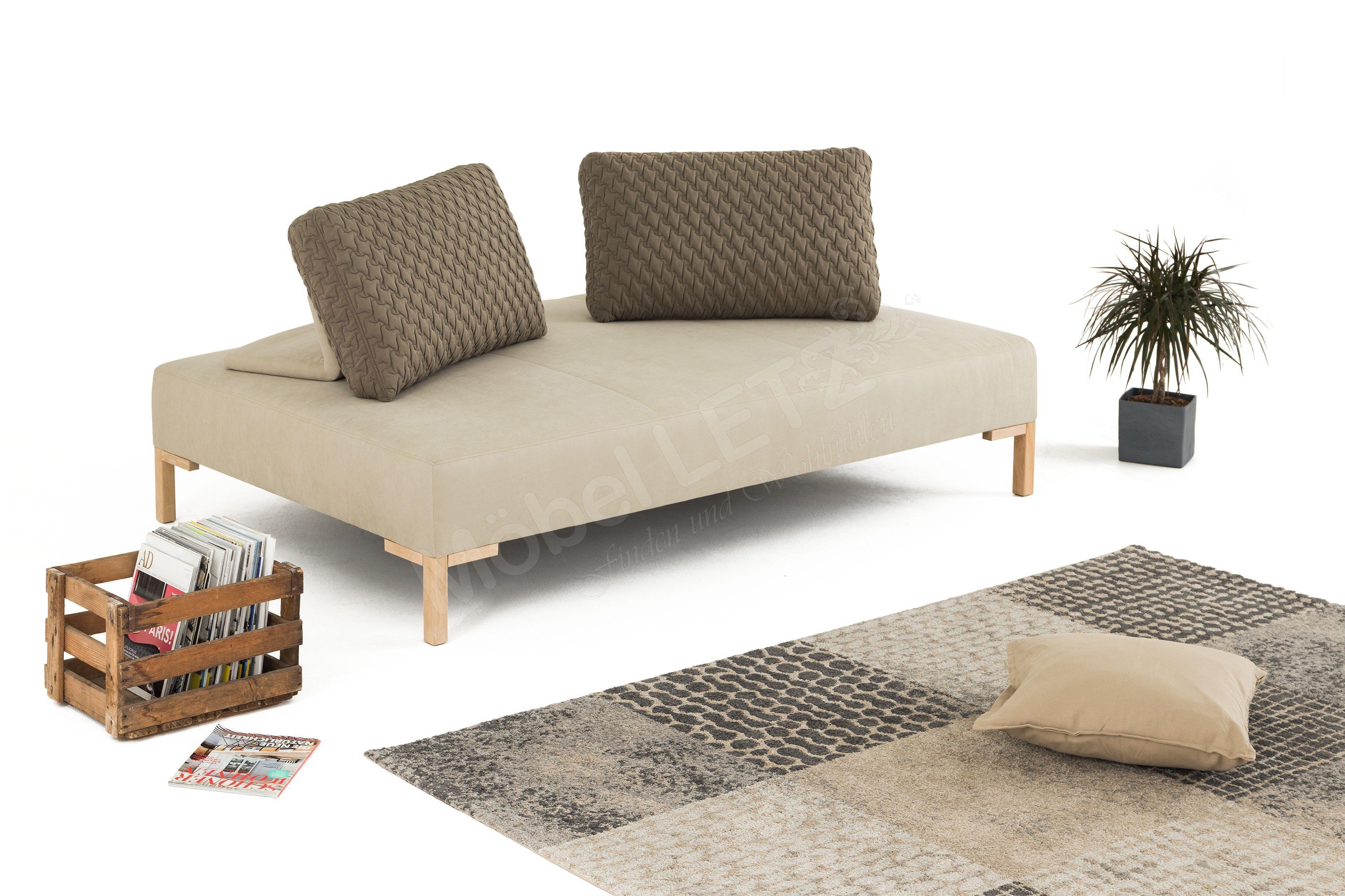 pure natur einzelliege alva in beige m bel letz online shop. Black Bedroom Furniture Sets. Home Design Ideas