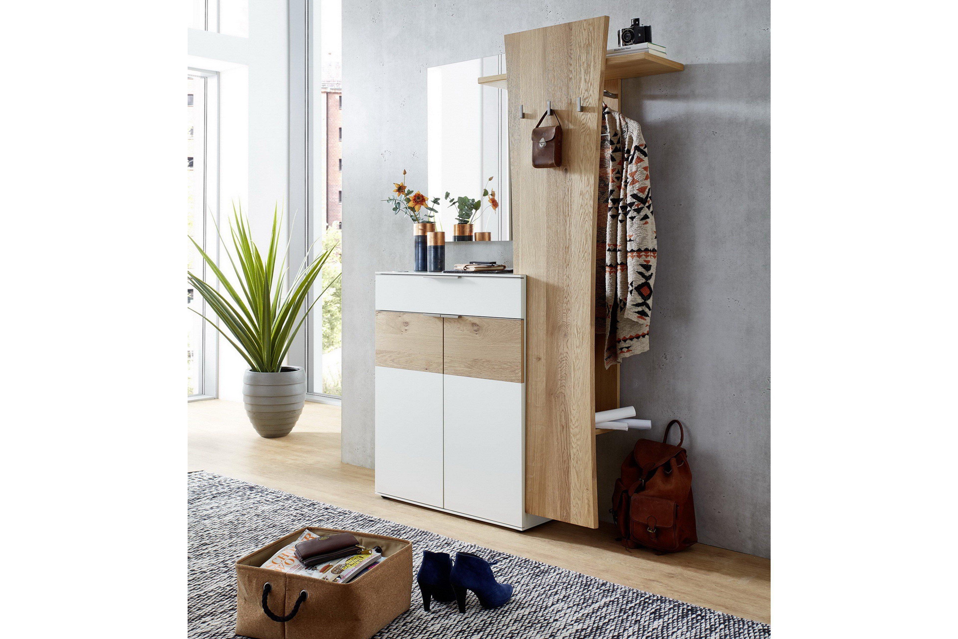 Verschiedene Garderobe Ideen Von Salerno Von Leinkenjost - In Balkeneiche &