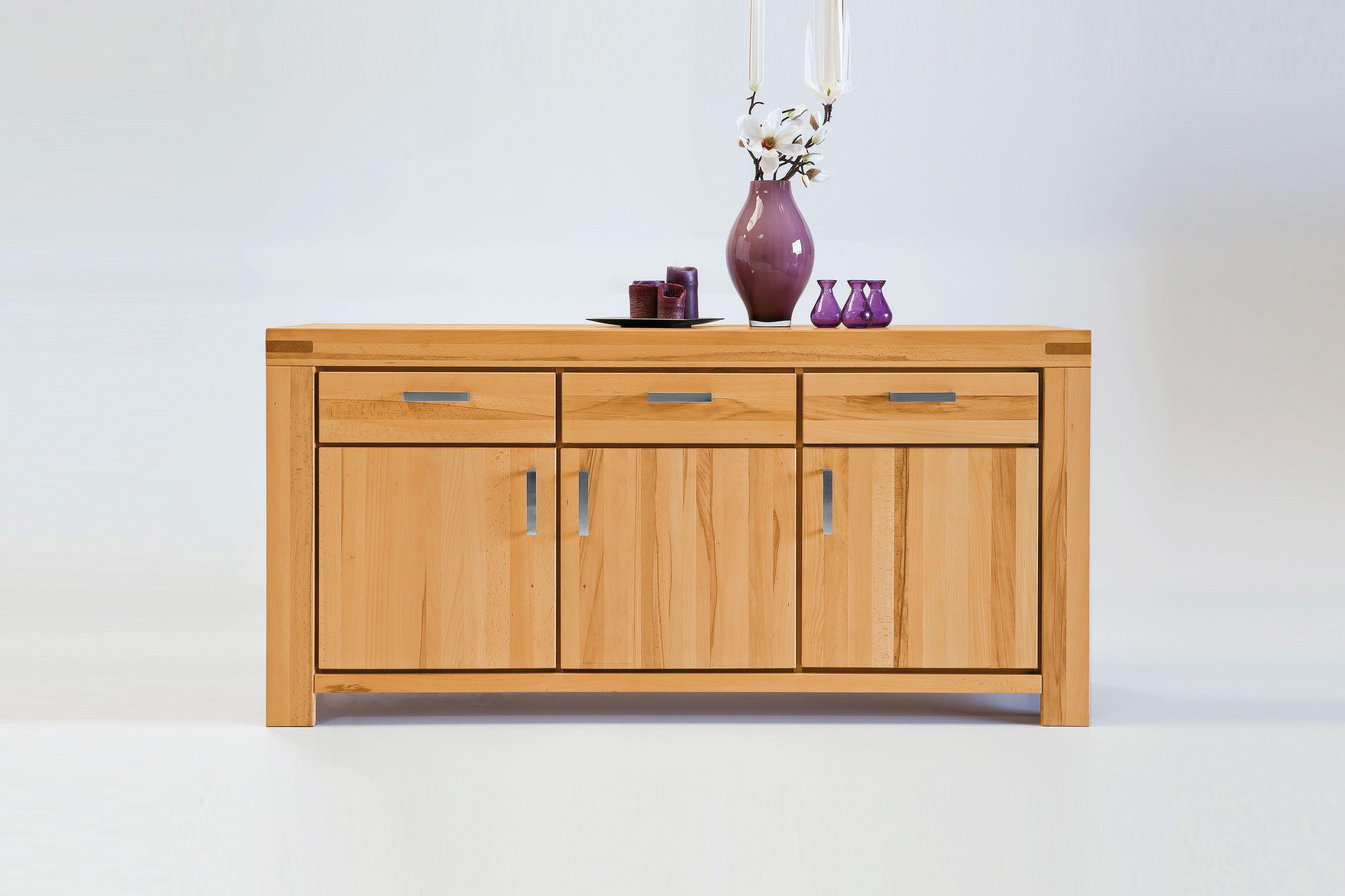 elfo m bel sideboard kira massive kernbuche ge lt. Black Bedroom Furniture Sets. Home Design Ideas